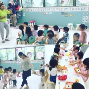 😊English program&Ballet lesson&lunch time😊
